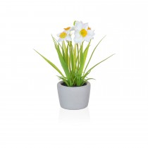 TreeLocate Artificial Potted Daffodil