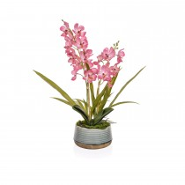 TreeLocate Artificial Potted Vanda Orchid