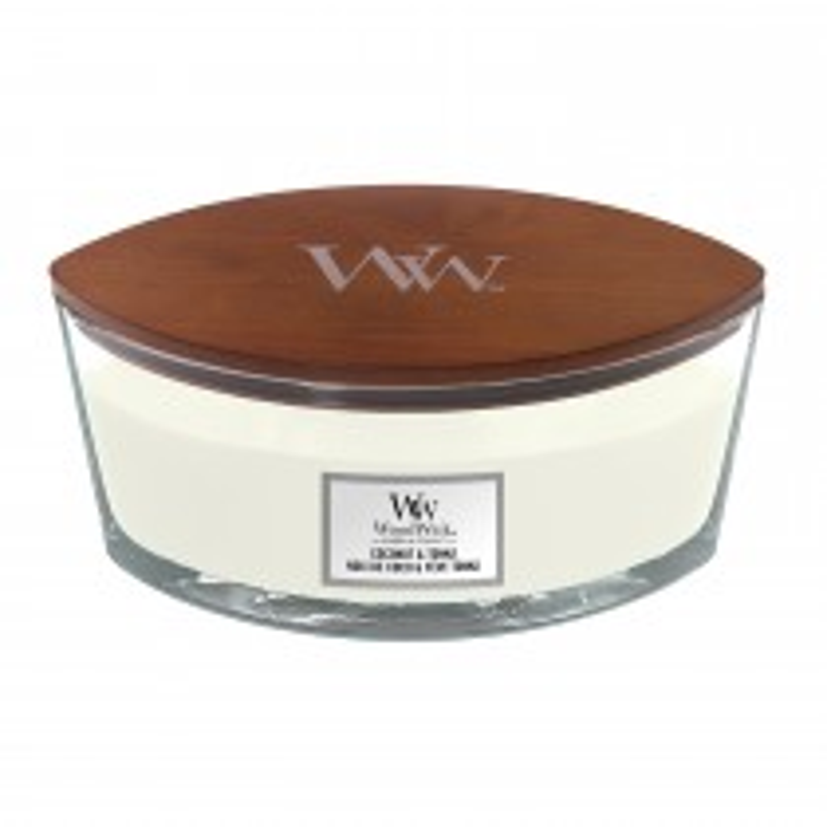 Woodwick Ellipse Candle, Coconut & Tonka