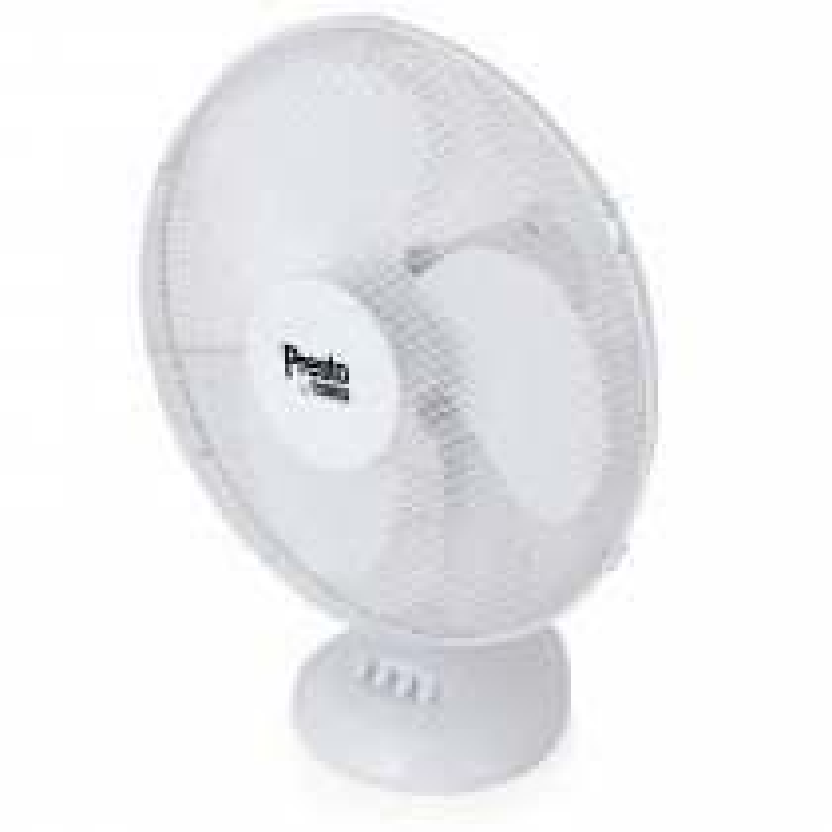 "Tower Presto 12"" Desk Fan, White"