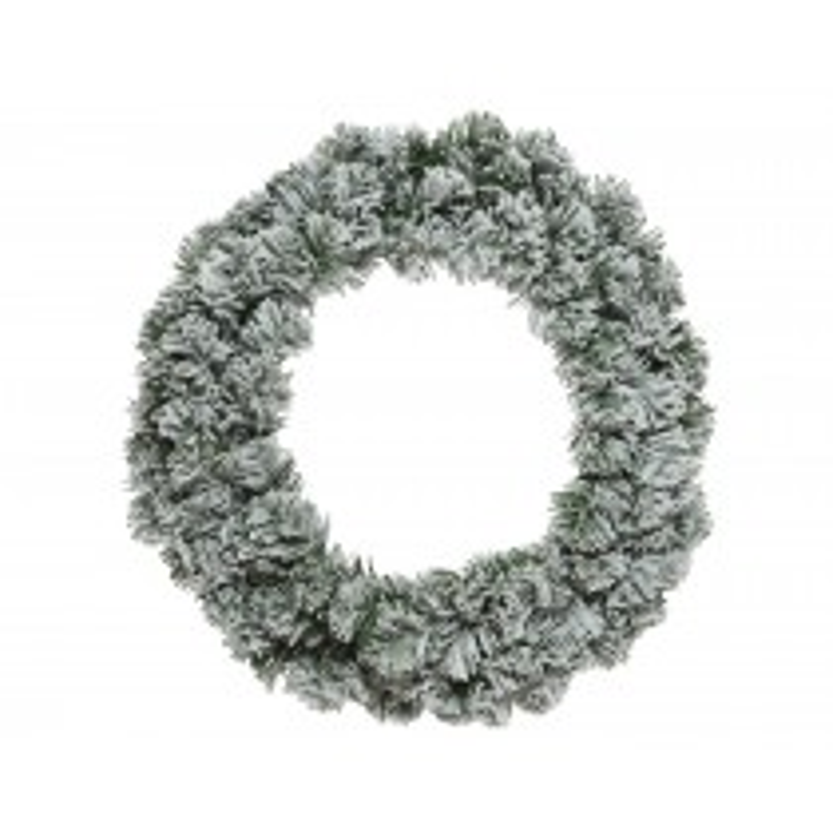 Kaemingk Imperial Snowy Wreath, White