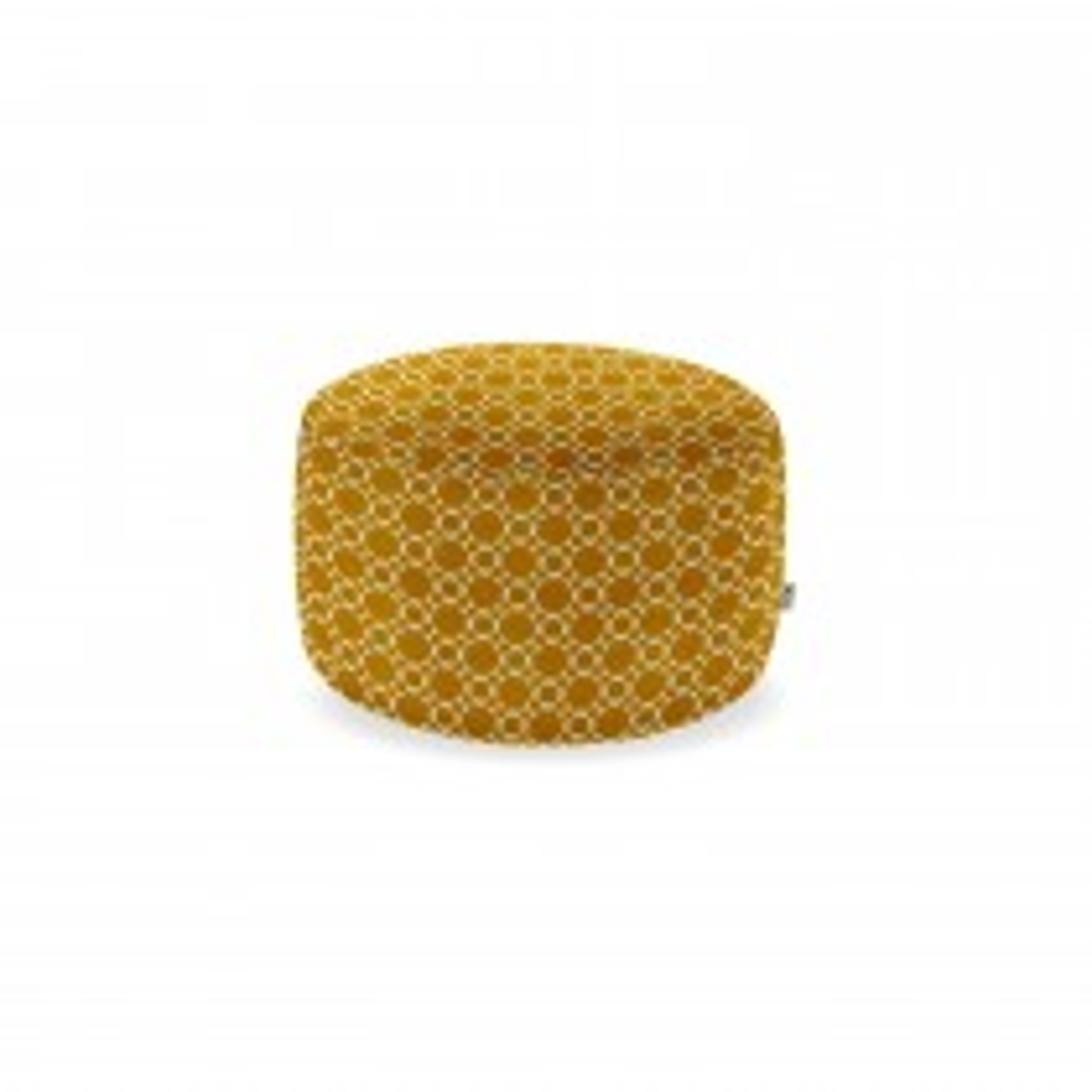 Orla Kiely Conway Large Stool Footstool, Retro Tile Dandelion