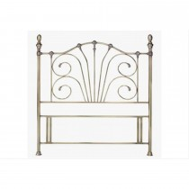 Casa Rebecca King Headboard, Brass
