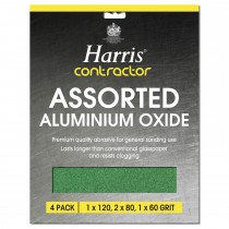 Harris Aluminum Oxide Sheets Pack of 4, Green