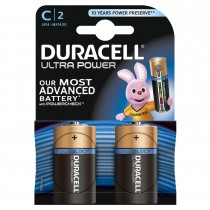 Duracell Ultra Power C 2 Pack