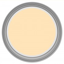 Crown 2.5l Matt Emulsion, Gentle Yellow