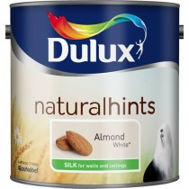 Dulux 2.5l Silk Standard Emulsion Paint, Almond White