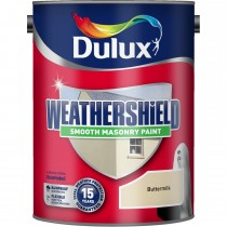 Weathershield 5l Smooth Emulsion, Buttermilk