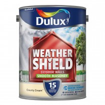 Weathershield 5l Smooth Emulsion, Country Cream