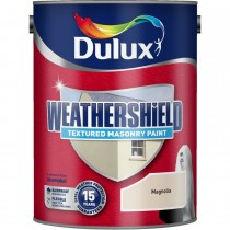Weathershield 5l Textured Emulsion, Magnolia
