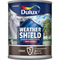 Weathershield 750ml Exterior High Gloss,Conker