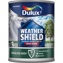 Weathershield 750ml Exterior High Gloss Paint,Highland Green