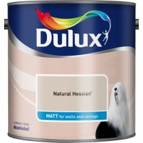 Dulux 2.5l Matt Standard Emulsion Paint, Hessian