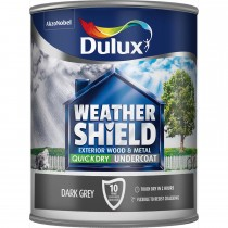 Weathershield 750ml Quick Dry Undercoat, Dark Grey