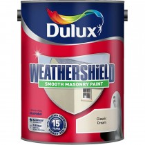 Weathershield 5l Smooth Classic Emulsion,  Cream