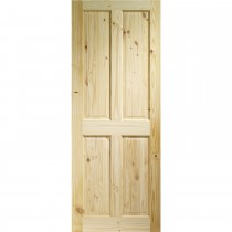"XL Joinery 33"" Internal Knotty Pine 4 Panel"