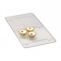 Kitchencraft Chrome Plated Rectangle Cake Cooling Tray