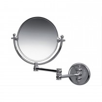 Miller Wall Mounted Extending Swivel Mirror Chrome Finish