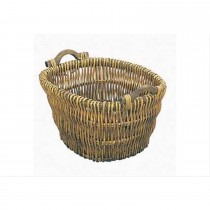 Manor Reproductions Log Basket, Brown