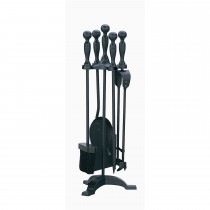 Manor Reproductions Campanion Set, Black