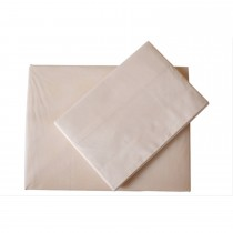 Casa Cream 200 Count Poly Cotton Extra Deep Fitted Sheet Double