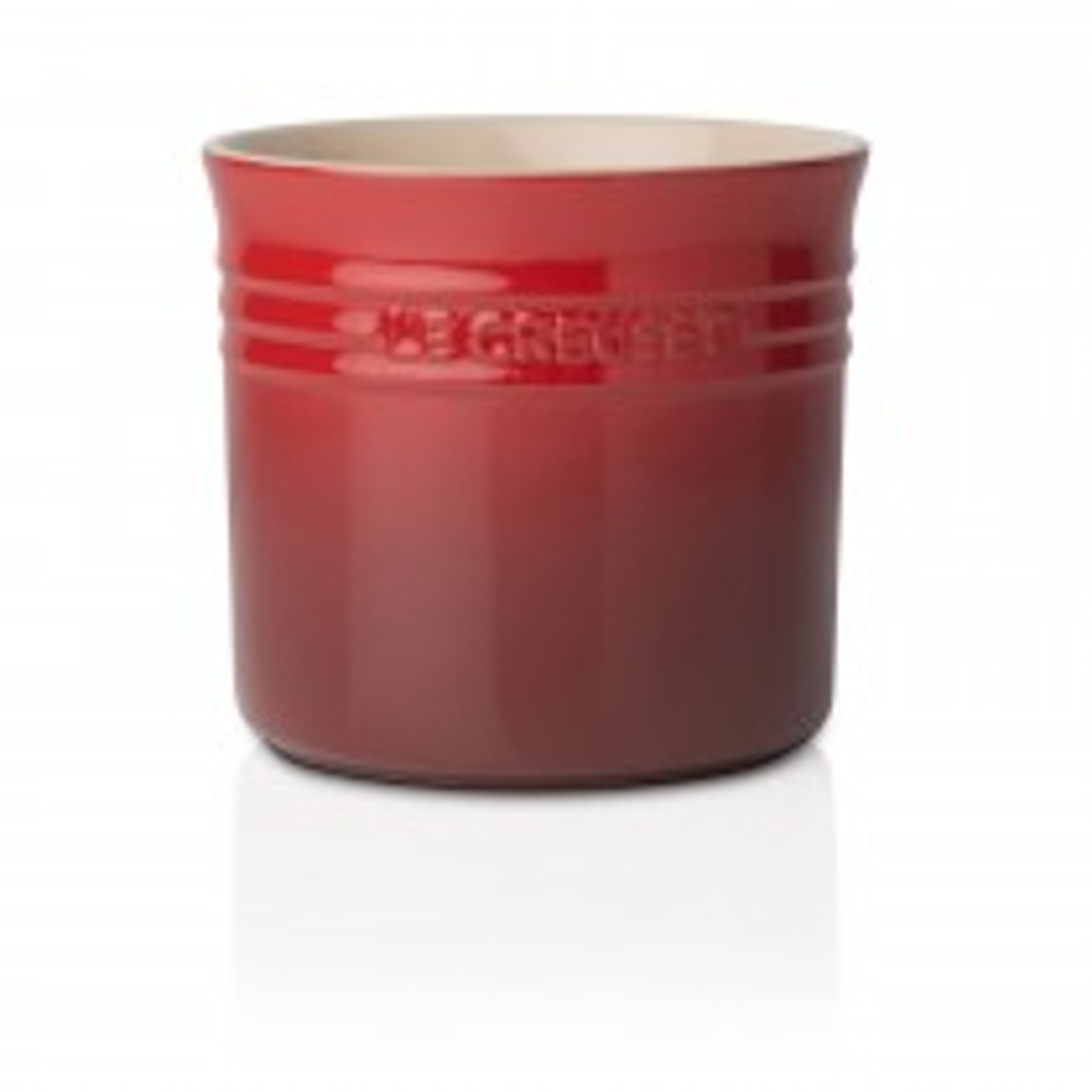 Le Creuset Large Utensil Jar, Cerise
