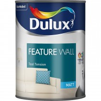 Dulux, Feature Wall, Teal Tension, 1.25L