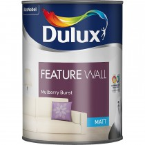 Dulux, Feature Wall, Mulberry Burst, 1.25L