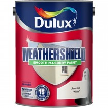 Weathershield 5l Smooth Paint,  Jasmine White