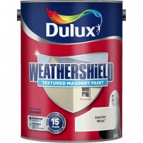 Weathershield 5l Textured Paint,  Jasmine White
