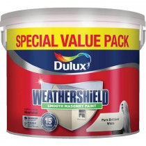 Weathershield 7.5l Smooth Paint,  Brilliant White