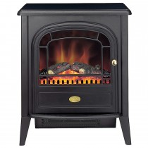 Dimplex Club LED Optiflame Electric Stove, Black