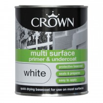 Crown 750ml Multi Surface Primer and Undercoat White
