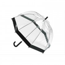 Totes Black PVC Dome Umbrella