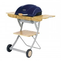 Outback Omega 200 Charcoal BBQ, Midnight Blue