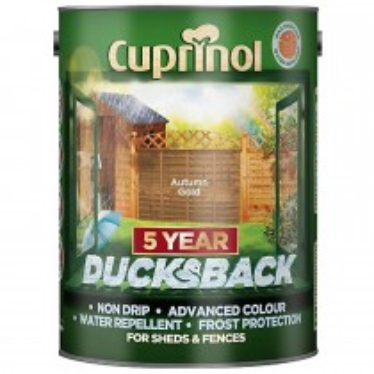 Cuprinol 5l Ducksback Autumn Gold