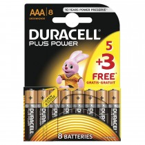 Duracell Plus Power AAA 5+3's