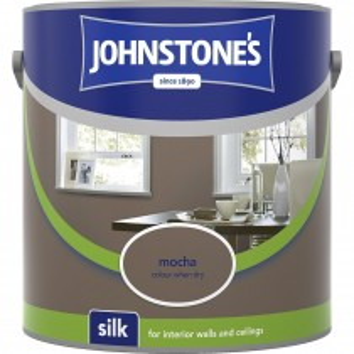 Johnstones 2.5l Silk Emulsion, Mocha