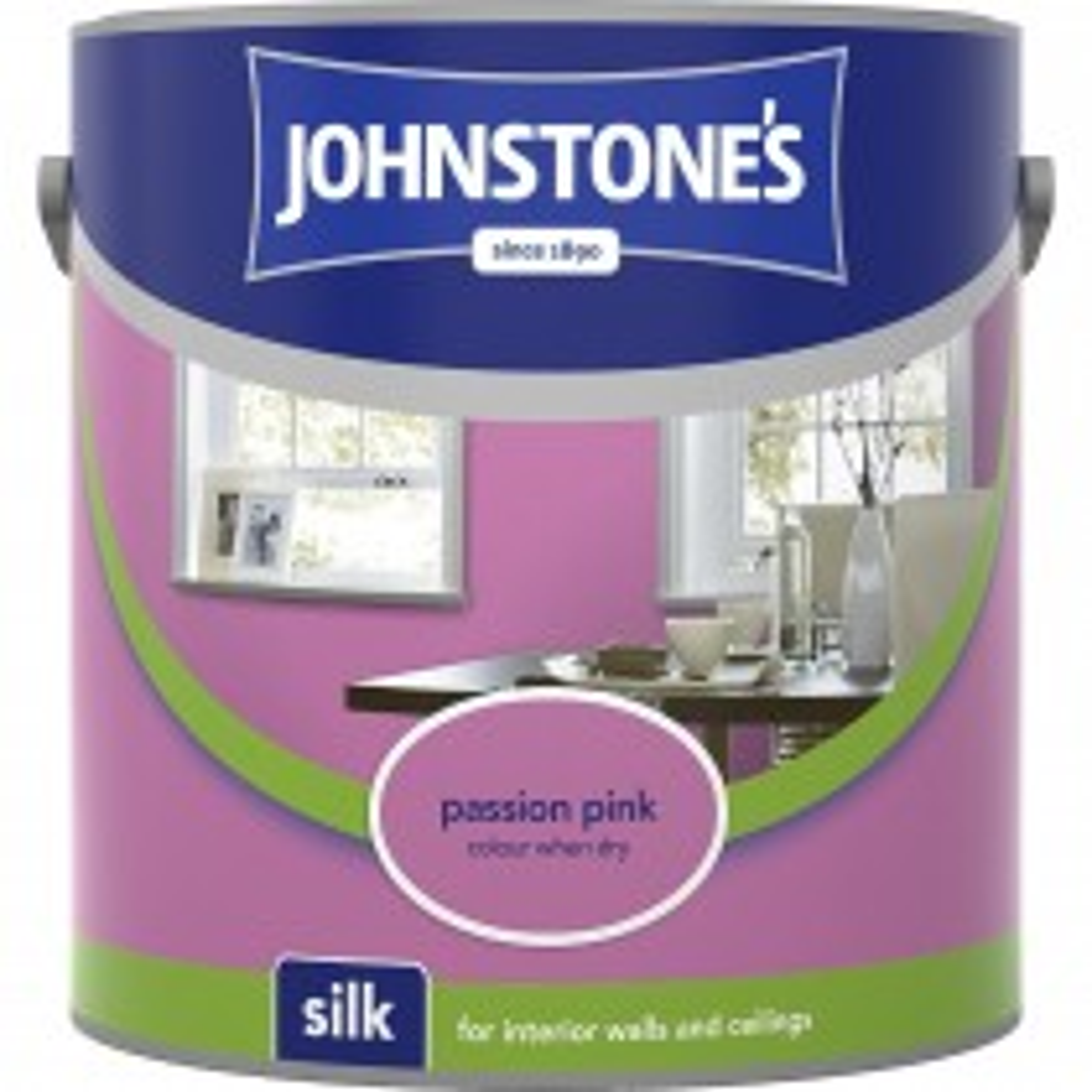 Johnstones 2.5l Silk Emulsion, Passion Pink