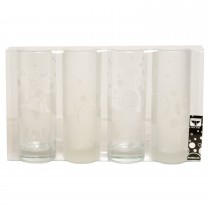 Bubbles Frosted Tumblers (Sleeve 4)
