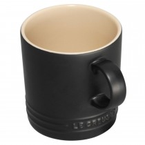 Le Creuset Breakfast Collection 350ml Mug, Satin Black