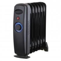 Black Spur 900watt Oil Filled Radiator