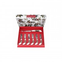 Portmeirion The Holly and Ivy Cheese Knife Set with Spreaders