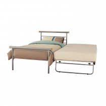 Casa Celine Single Guest Bed, Silver