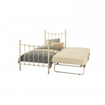 Casa Marseilles Single Guest Bed, White