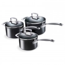 Le Creuset Toughened Non Stick 3 Piece Pan Set