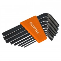 Faithfull Hex Key Short Arm Set of 8