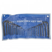 Blue Spot 25 Piece Hexagon Key Pouch