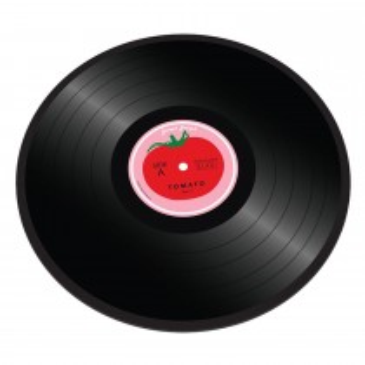 Joseph Joseph Tomato Vinyl Records Work Top Saver