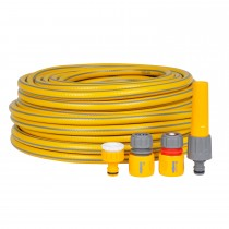 Hozelock 30m Maxi Plus Hose with Fittings Set